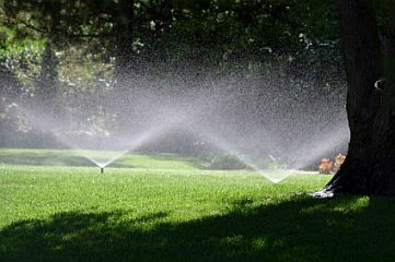 a sprinkler system installed in Fresno, CA